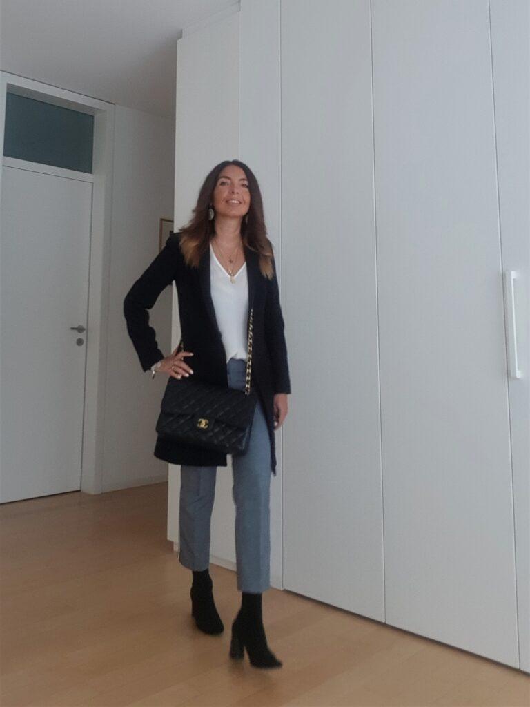 Outfit da ufficio, look da ufficio, come vestirsi in ufficio donna, come vestirsi per andare in ufficio, outfit da lavoro