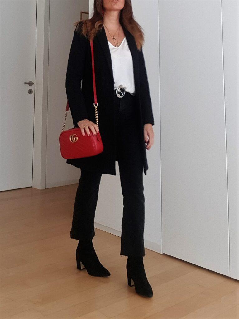 Gucci Marmont rossa come abbinarla