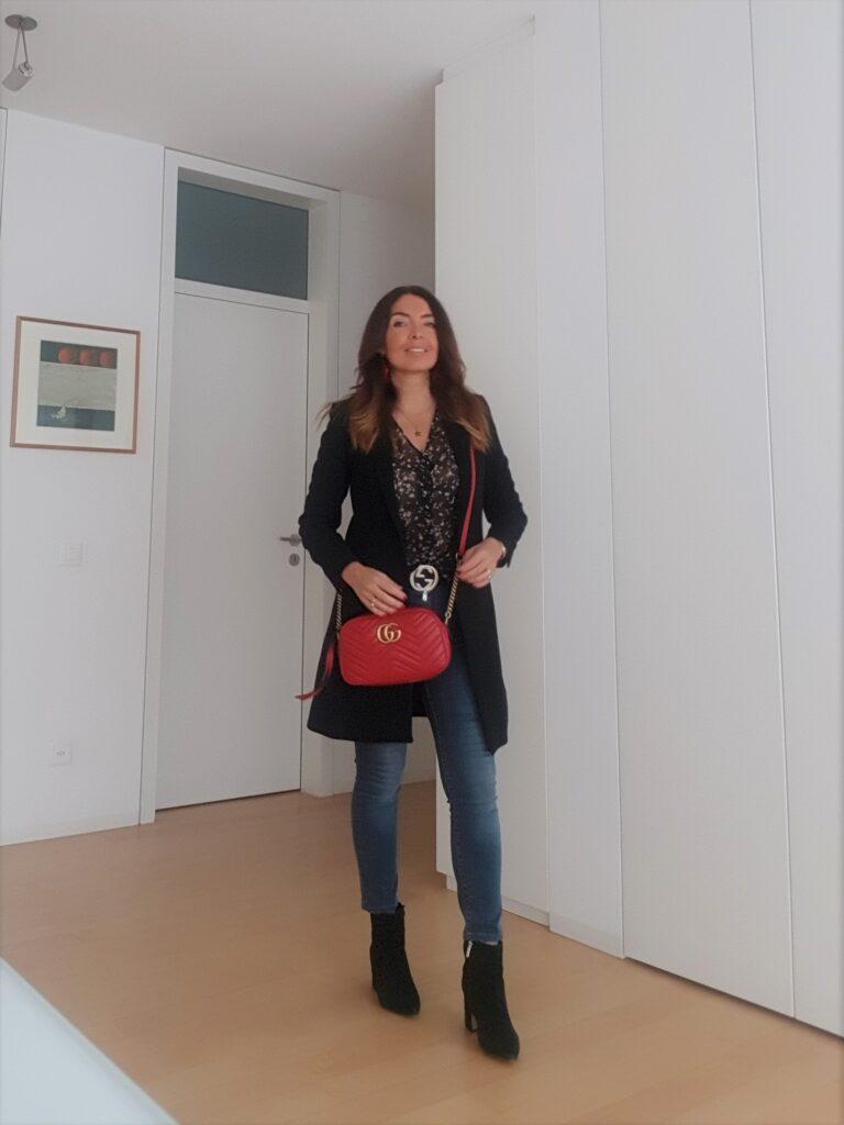 Gucci Marmont rossa