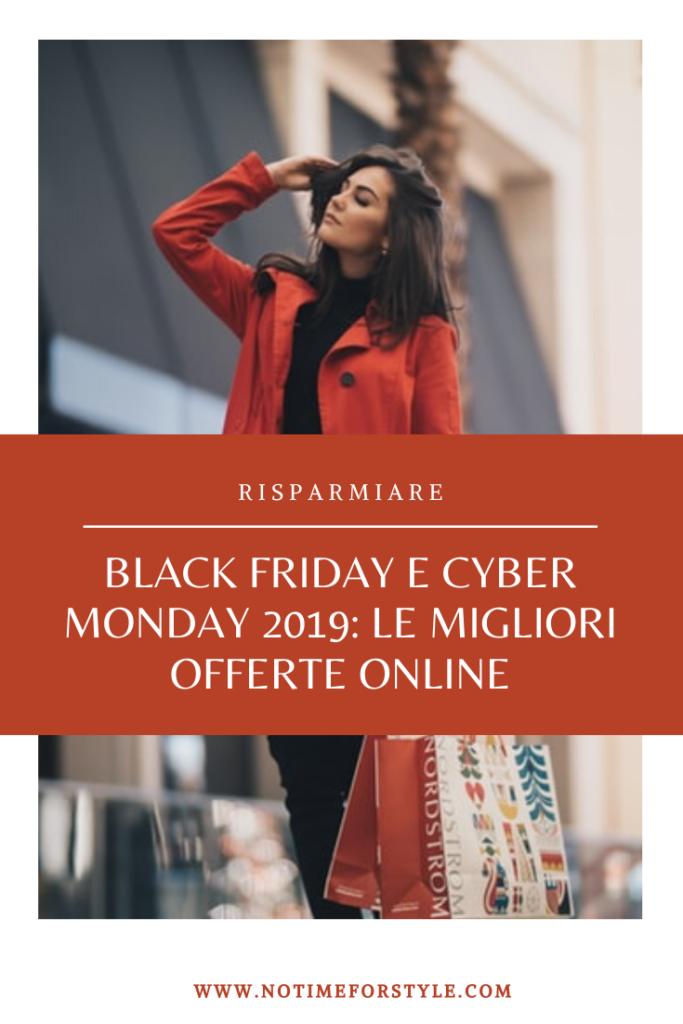 black friday e cyber monday 2019 migliori offerte online