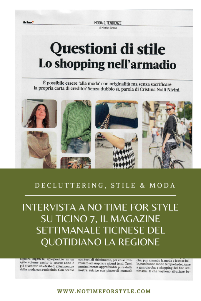 intervista a No Time for Style