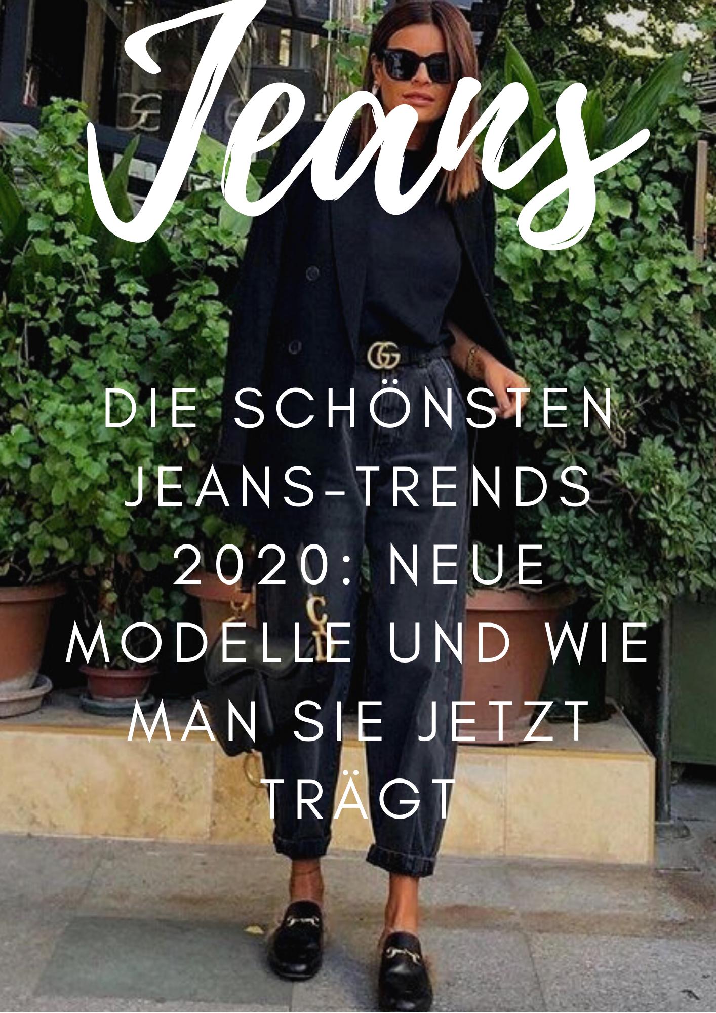 Die schönsten Jeans-Trends 2020: neue Modelle und wie man sie jetzt trägt