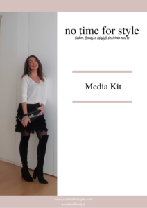 Media Kit No Time for Style