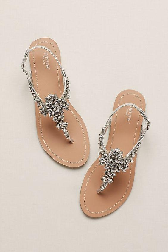 Scarpe primavera estate 2020: sandali gioiello
