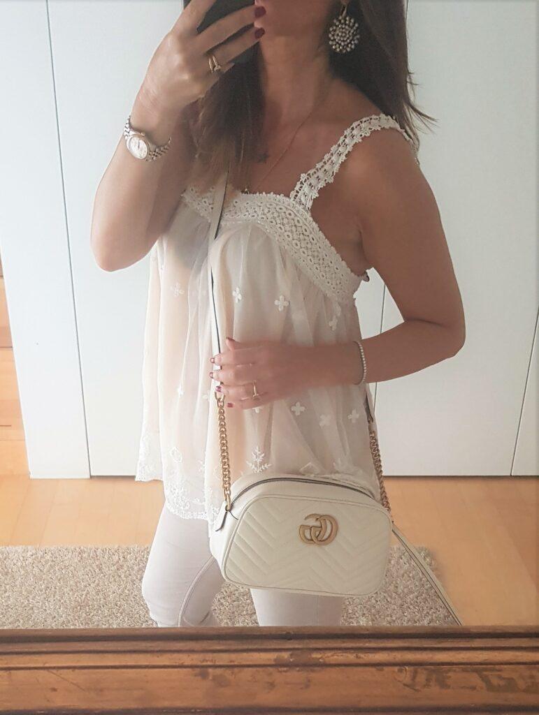 outfit over 40 bianco estivo