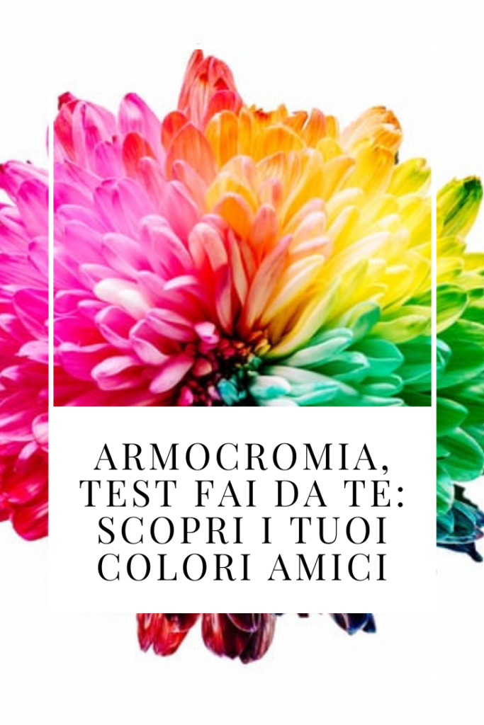 Armocromia, test fai da te: scopri i tuoi colori amici