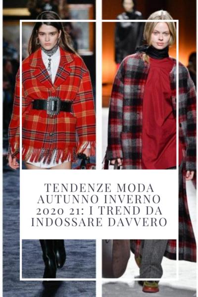 tendenze moda autunno inverno