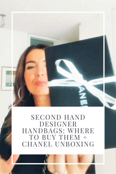 SECOND HAND DESIGNER HANDBAG