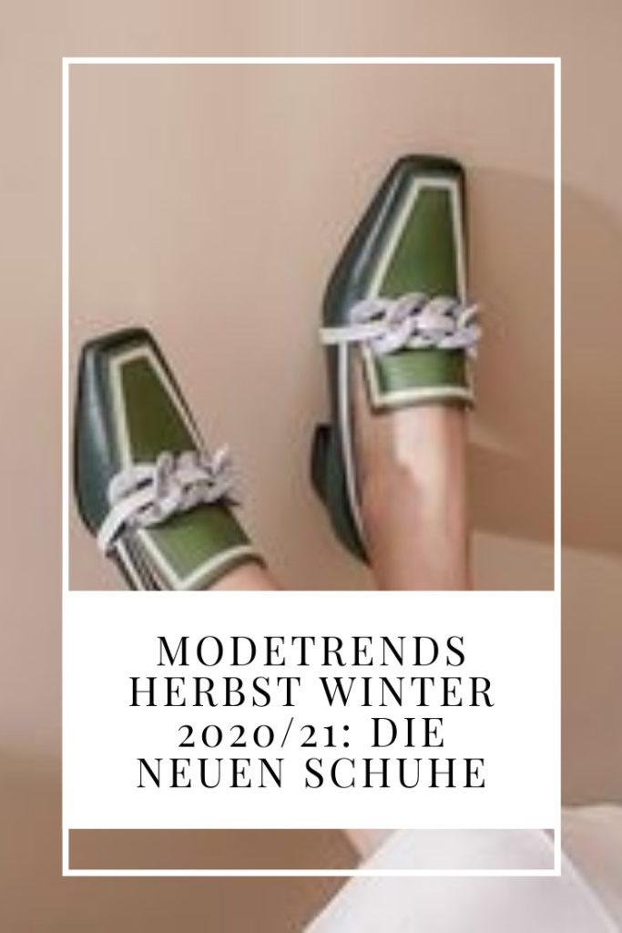 Modetrends Herbst Winter 2020 21: die neuen Schuhe