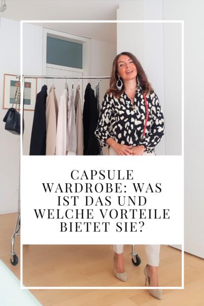Capsule Wardrobe: was ist das und welche Vorteile bietet sie?