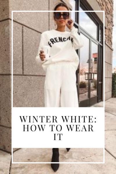how to wear white in the winter winter