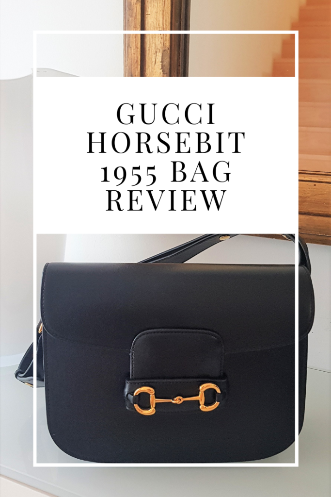 Gucci horsebit 1955 bag review and unboxing
