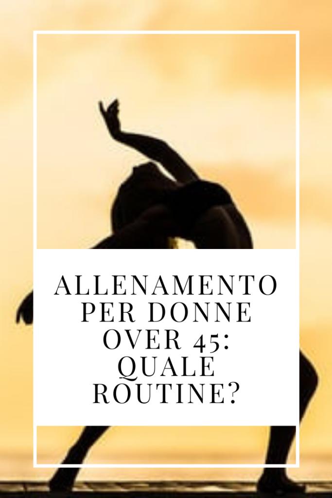 allenamento per donne over 50