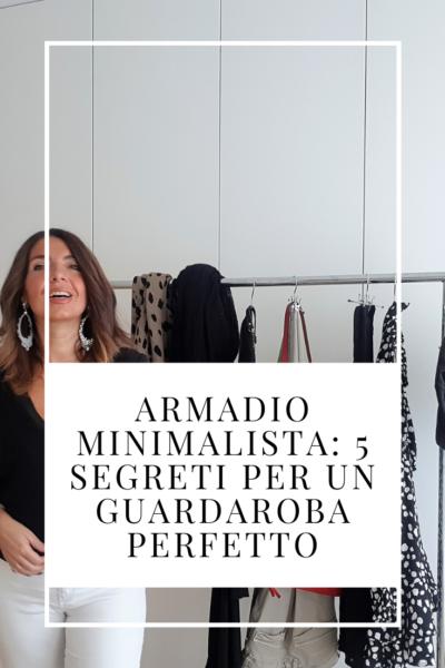 armadio minimalista 5 segreti di un guardaroba perfetto