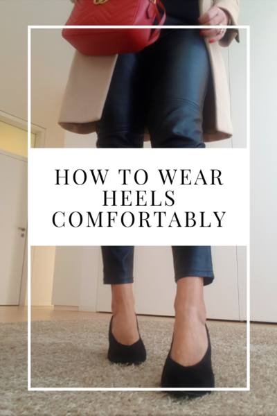 how to wear heels comfortably