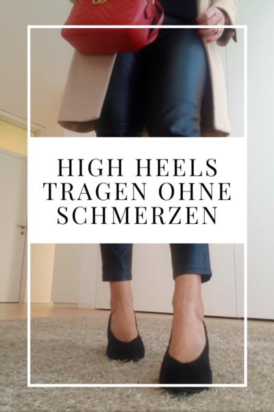 High Heels tragen ohne Schmerzen: praktische Tipps