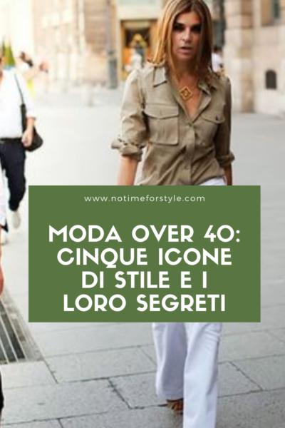 moda over 40 icone di stile