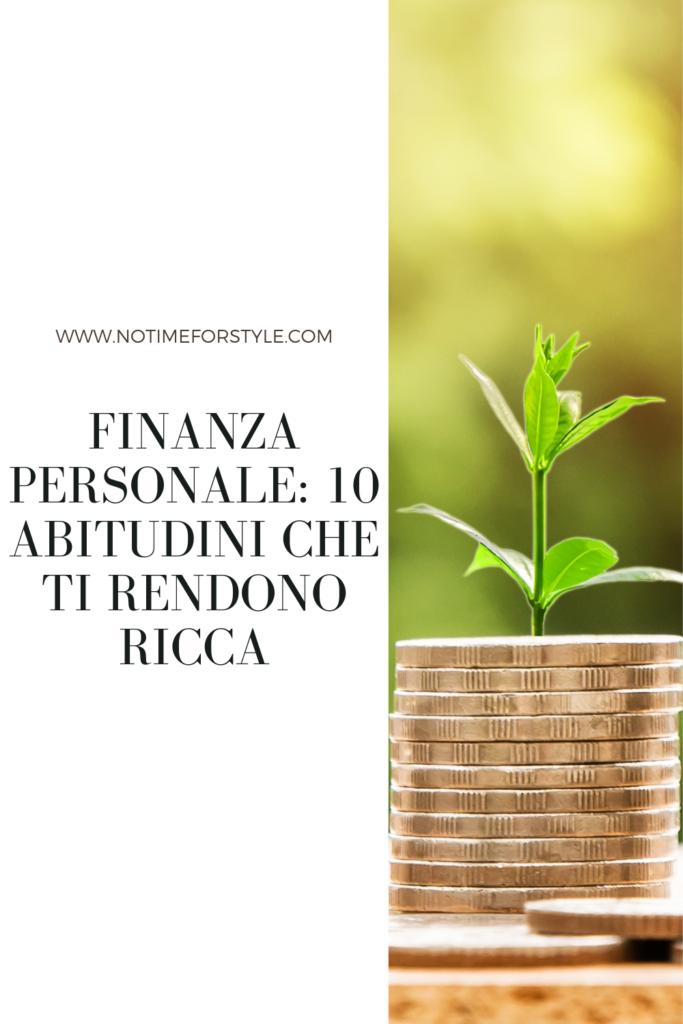 finanza personale come diventare ricchi