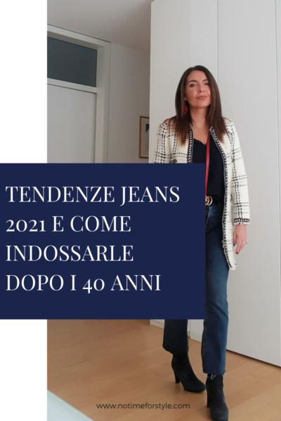 tendenze jeans 2021 come indossare i jeans dopo i 50 anni