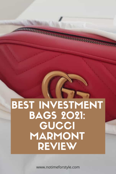 gucci marmont review