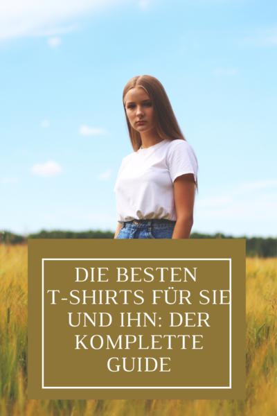 Die besten T-Shirts für Damen: der komplette Guide
