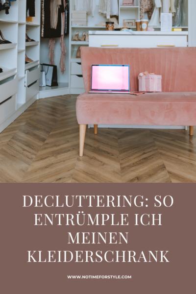 Decluttering: wie entrümple ich meinen Kleiderschrank richtig?