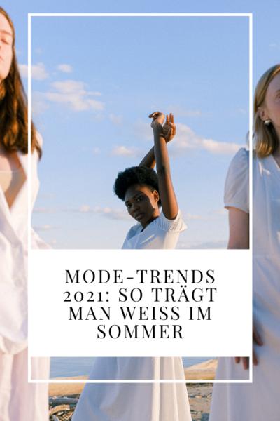 Mode-Trends 2021: So trägt man Weiß im Sommer