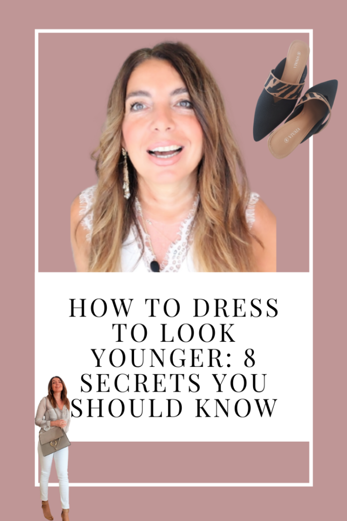 How To Dress To Look Younger: 8 Secrets You Should Know