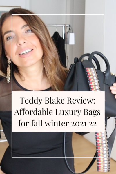 Teddy Blake Review: Affordable Luxury Bags for fall winter 2021 22